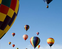 corporate travel – hot air ballooning